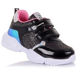 Стильные кроссовки с лаковыми вставками для девочек 31-36 р-р 15.2.102