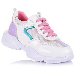Кроссовки на шнурках для девочек 37-40 р-р 15.2.107