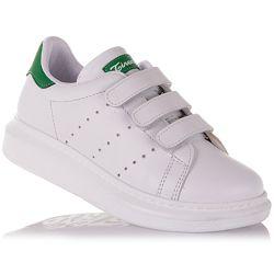 Школьные кроссовки из натуральной кожи для девочек 27-30 р-р 15.2.134