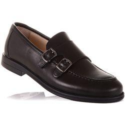 Модные туфли из кожи для школы унисекс 31-36 р-р 11.5.133