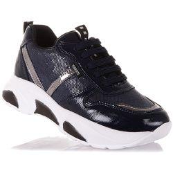 Кроссовки из нубука на шнуровке для девочек 31-36 р-р 15.2.144