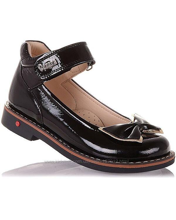 Лаковые туфли с бантом для девочек 29-36 р-р 14.5.118