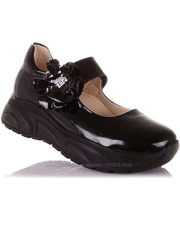 Туфли на массивной подошве для девочек 31-36 р-р 14.5.116