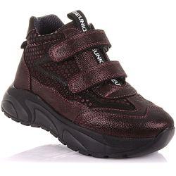 Демисезонные ботинки на массивной подошве для девочек 37-40 р-р 11.3.452