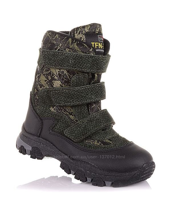 Зимние ботинки на массивной подошве унисекс 31-36 р-р 5.4.353