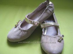 Золотые туфельки - балетки
