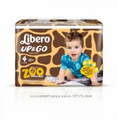 Супер мягкие и тонкие трусики Либеро Libero Up&Go Мега упаковки для активны
