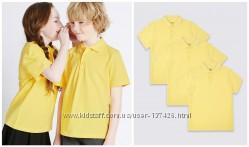Marks and Spencer детская футболка поло 5-6 лет жёлтая