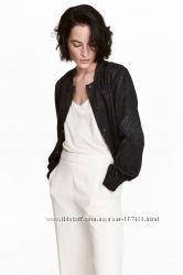 Куртка бомбер женская H&M сатин, размер S 42укр 8англ