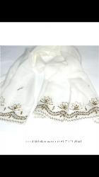 Свадебная или просто нарядная шелковая шаль Италия