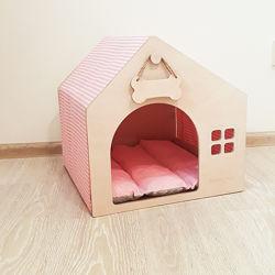 Стильный домик для собаки