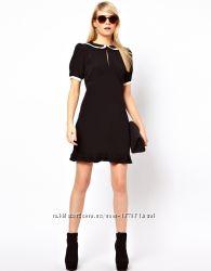 Новое платье с воротничком