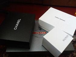 Оригинальные коробки Prada, Chanel, Isabel Marant, Balmain