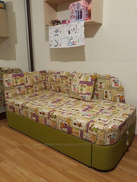 Диван подростковый , раскладной, кровать детская