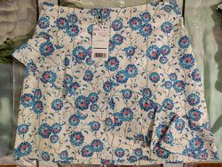 Летняя юбка в цветах  mango 38EU S