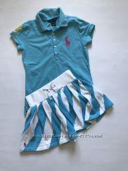 Платье Ralf Lauren  сарафан Zara 8-10 лет