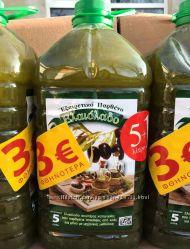 Грецька оливкова олія 6 літрів