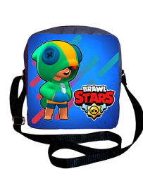 Сумка барсетка принт Бравл Старс Brawl Stars купить сумку с принтом подарок