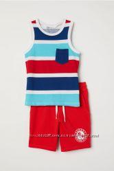 Комплект майка-шорты бренда H&M, 4-6 лет