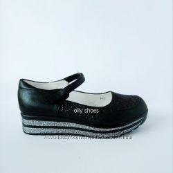 Школьные туфли для девочки р. 29-31 новые