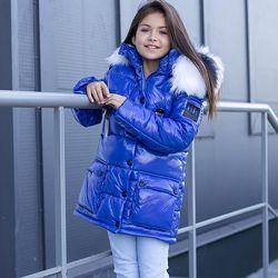 Детская зимняя куртка для девочки ZKD-13 на рост 134-164