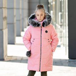Зимнее пальто для девочки Марина