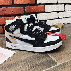 Кроссовки мужские Nike Air Jordan x OFF-White реплика 00022