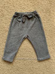Велюровые штаны Zara р. 74