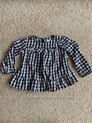 Рубашка на девочку Zara р. 80