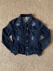 Джинсовый пиджак Rinascimento р. 34