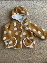 Демисезонное пальто на девочку Next, р.92-98