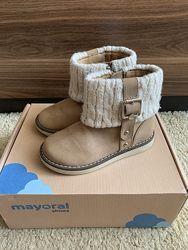 Осенние ботинки на девочку Mayoral, и.23