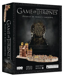 3d пазлы game of thrones HBO