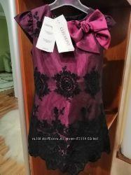 Нарядное кружево гипюр красивое фирменное платье ceremony by wojcik войчик