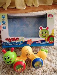 Развивающая игрушка чудо гусеница