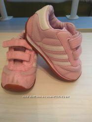 Кроссовки Adidas оригинал для девочки, 21 размер детская обувь