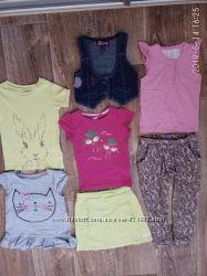 Пакет летних вещей для девочки 2-4 лет