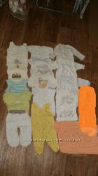 Пакет одежды на новорожденного