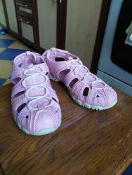 Летние сандали AGAXY для девочки розовые 33 р