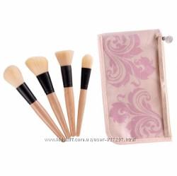 Оригинал набор кистей для макияжа лица Coastal Scents 4 Face Makeup Brush