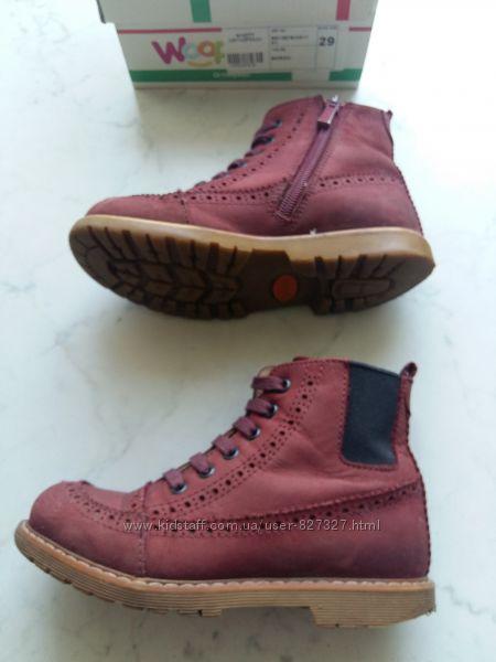 Демисезонные ортопедические ботинки Woopy Orthopedic 29 размер