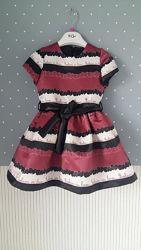 Нарядные, коктельные платья Y-CLU и Iana, Италия, на 2-3 годика, р.92-98