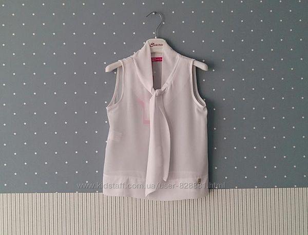 Блузы/рубашки Gaialuna и Sarah Chole, Италия, на 7-11 лет размеры 122-146