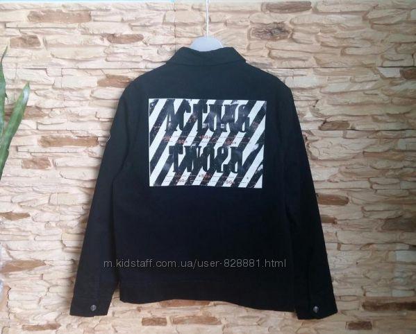 Джинсовая куртка, жакет Street Gang, Италия, на 14-16 лет, размер 164-176