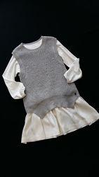 Теплые платья, платья-туники Mayoral, Испания, на 4-5 и 9-12 лет, 110, 140