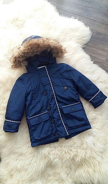 Зимняя куртка, парка Mayoral, Испания, на 2 годика, размер 92