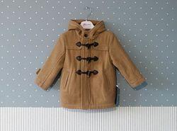 Шерстяное демисезонное пальто, полупальто Mayoral на 2 годика, размер 92