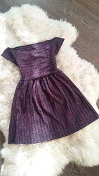 Нарядные люрексовые платья By Very, Англия, на 10-15 лет, размеры 140-170