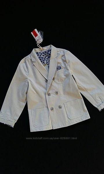 Легкий пиджак, жакет Street Gang, Италия, на 5-6 лет, размер 110-116