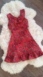 Яркое платье-сарафан с оборками By Very, Англия,  на 14 и 15 лет